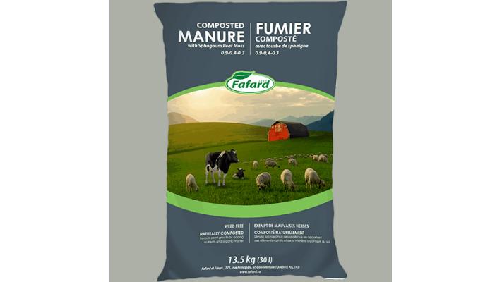 Fumier Fafard - Mouton et Vache 30L